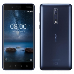 Nokia 8 64GB Dual (4GB RAM) Polished Blue РСТ