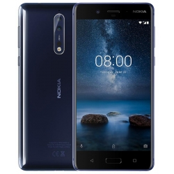 Nokia 8 64GB Dual (4GB RAM) Tempered Blue
